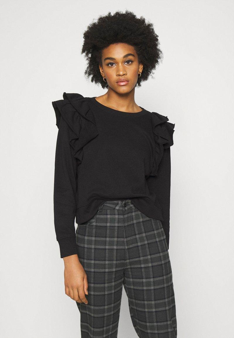 Monki - MISA - Sweatshirt - black