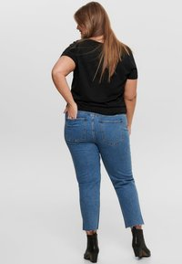 ONLY Carmakoma - CURVY  - Slim fit jeans - dark blue denim - 2