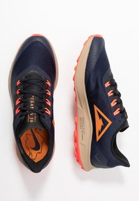 Nike Performance - AIR ZOOM PEGASUS 36  - Zapatillas de trail running - obsidian/magma orange/black/laser crimson/khaki - 1