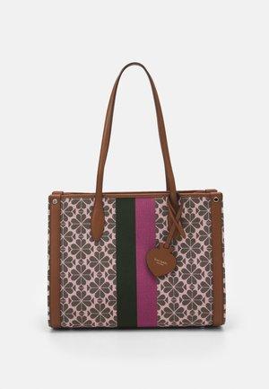 MEDIUM TOTE - Handbag - pink multi