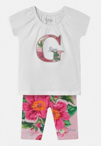 SET  - T-shirt con stampa - true white