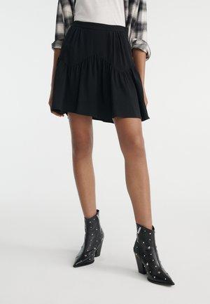 JUPE  - Pleated skirt - black