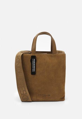 PAPER BAG S - Handbag - sepia brown