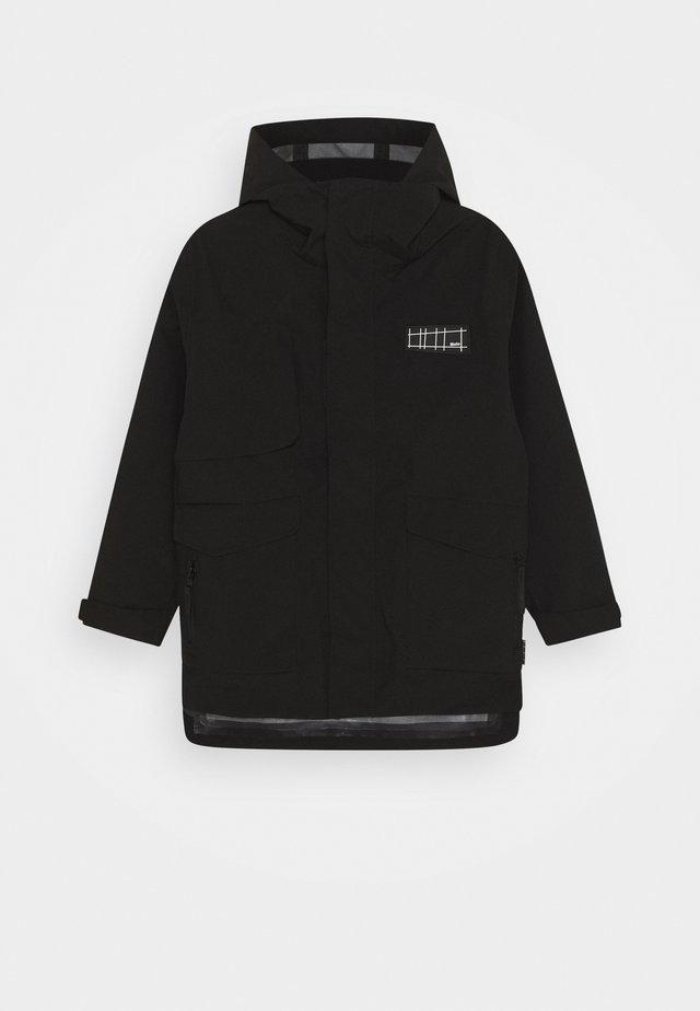 HARDEN - Regenjacke / wasserabweisende Jacke - black