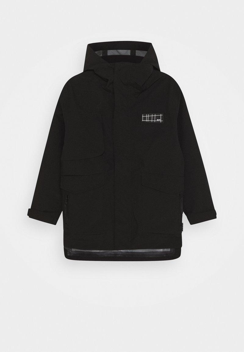 Molo - HARDEN - Regnjakke / vandafvisende jakker - black