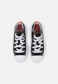 Converse - CHUCK TAYLOR ALL STAR MOVE COLOR POP - Baskets montantes - black/pink salt/white - 3