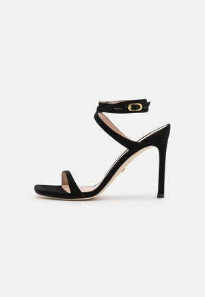 ELLSIE - Sandaalit nilkkaremmillä - black