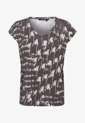 Print T-shirt - reed varied