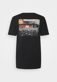 Volcom - WORLDS COLLIDE BSC SS - Print T-shirt - black - 5