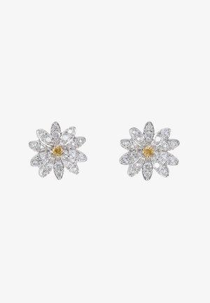 ETERNAL FLOWER - Earrings - orangy yellow