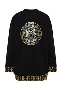 Ed Hardy - BIG-TOUR SWEATER DRESS OVERSIZED - Jersey dress - black - 4