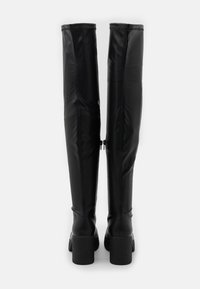 Rubi Shoes by Cotton On - ZAZA PLATFORM BOOT - Ylipolvensaappaat - black smooth - 3