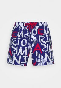 BOXER - Plavky - blue/white/red
