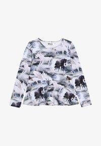 Molo - ROSALIND - Langærmede T-shirts - mottled grey - 2