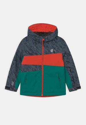 HUMOUR UNISEX - Snowboard jacket - black/alpine