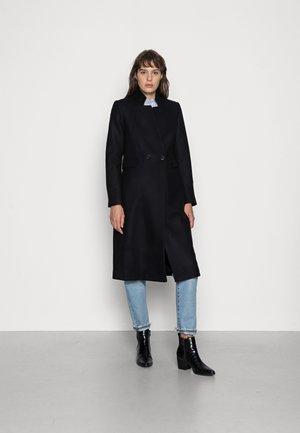 CARA - Classic coat - black