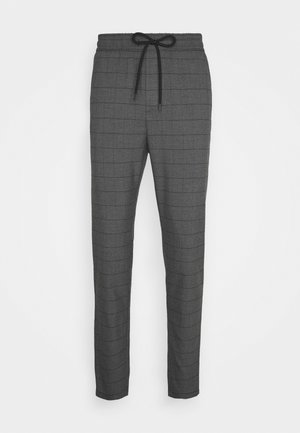 ONSLINUS LONG CHECK  - Pantalon classique - medium grey melange