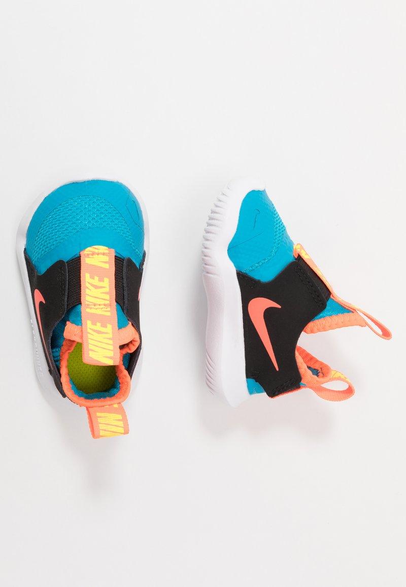 Nike Performance - FLEX RUNNER UNISEX - Neutrální běžecké boty - laser blue/hyper crimson/black/lemon