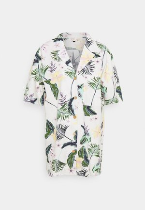 CARAVAN OF SUN - Button-down blouse - snow white