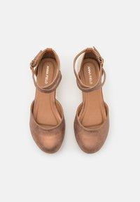 Anna Field - COMFORT - Zapatos de plataforma - bronze - 5