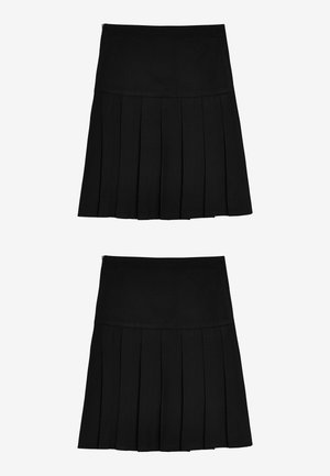 2 PACK - A-line skirt - black