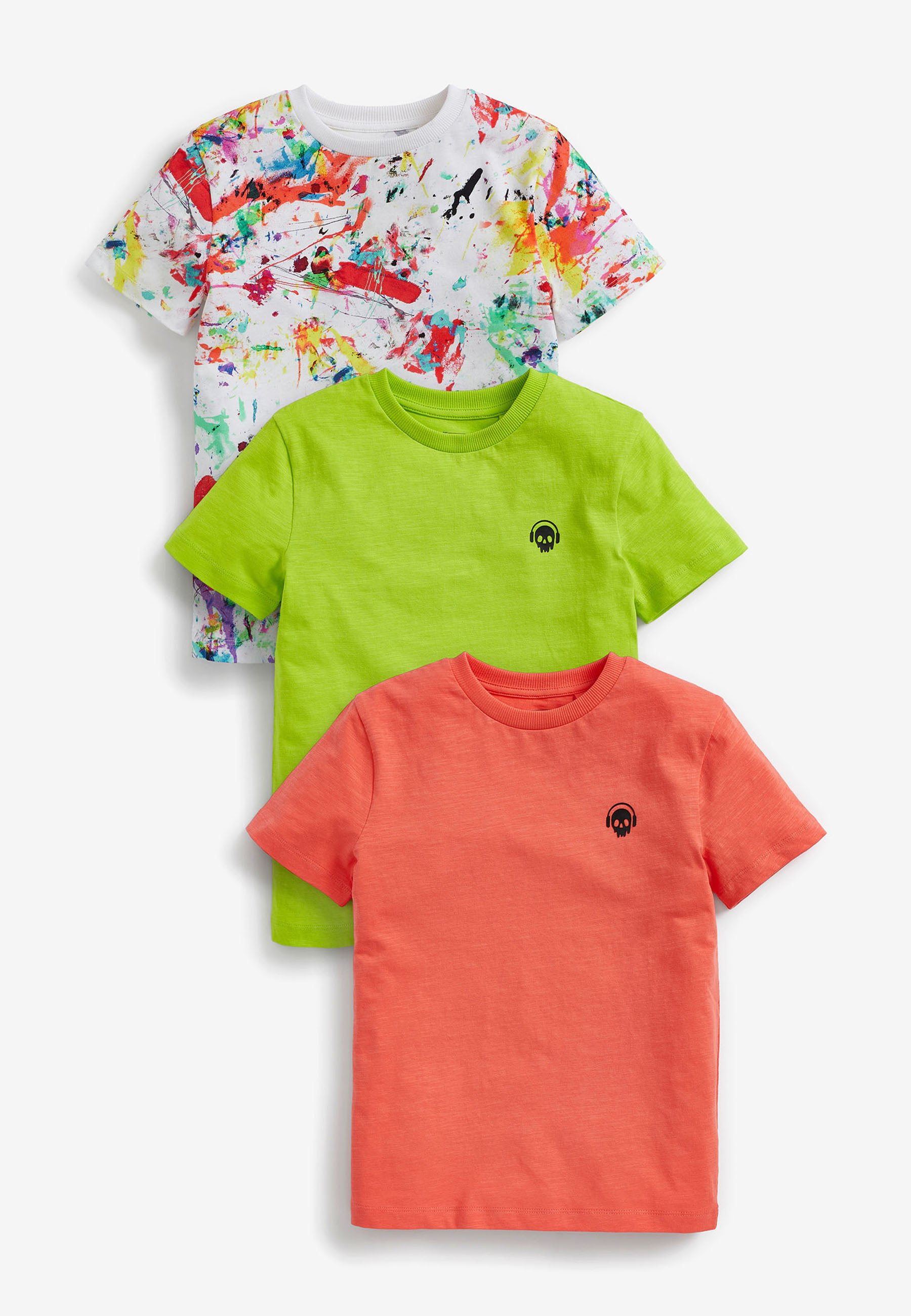 Bambini Pack of:3 - T-shirt con stampa