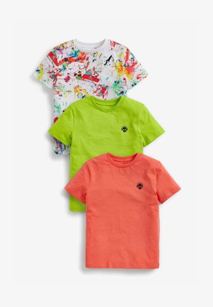 Pack of:3 - Print T-shirt - multi-coloured