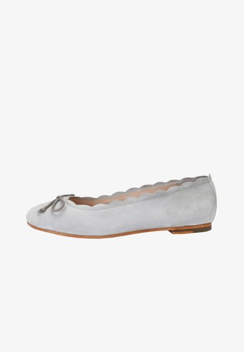MILLIE - Ballet pumps - hellgrau