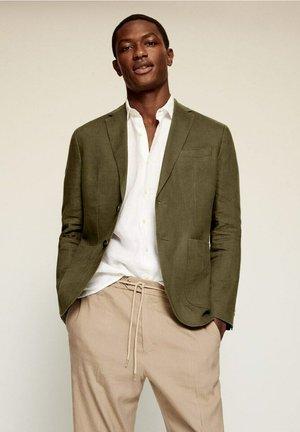 Suit jacket - kaki