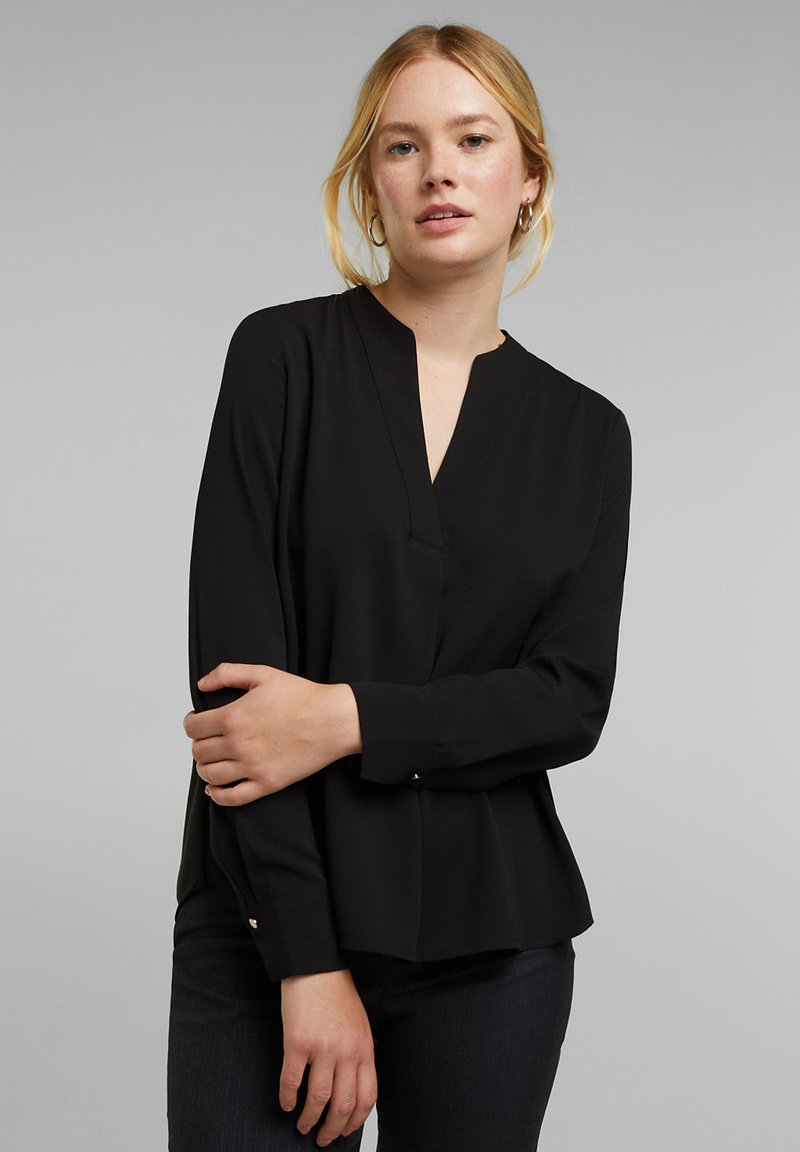 Esprit Collection - Long sleeved top - black