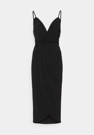 VIALYSSUM SINGLET DRESS - Jersey dress - black