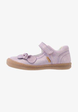 Ankle strap ballet pumps - iris