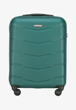 TRAVEL - Wheeled suitcase - green