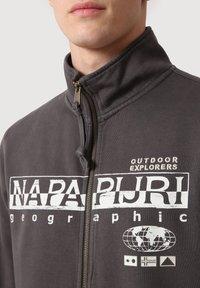 Napapijri - Zip-up sweatshirt - dark grey solid - 3