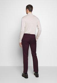 Limehaus - SUIT SLIM FIT - Kostym - bordeaux - 6