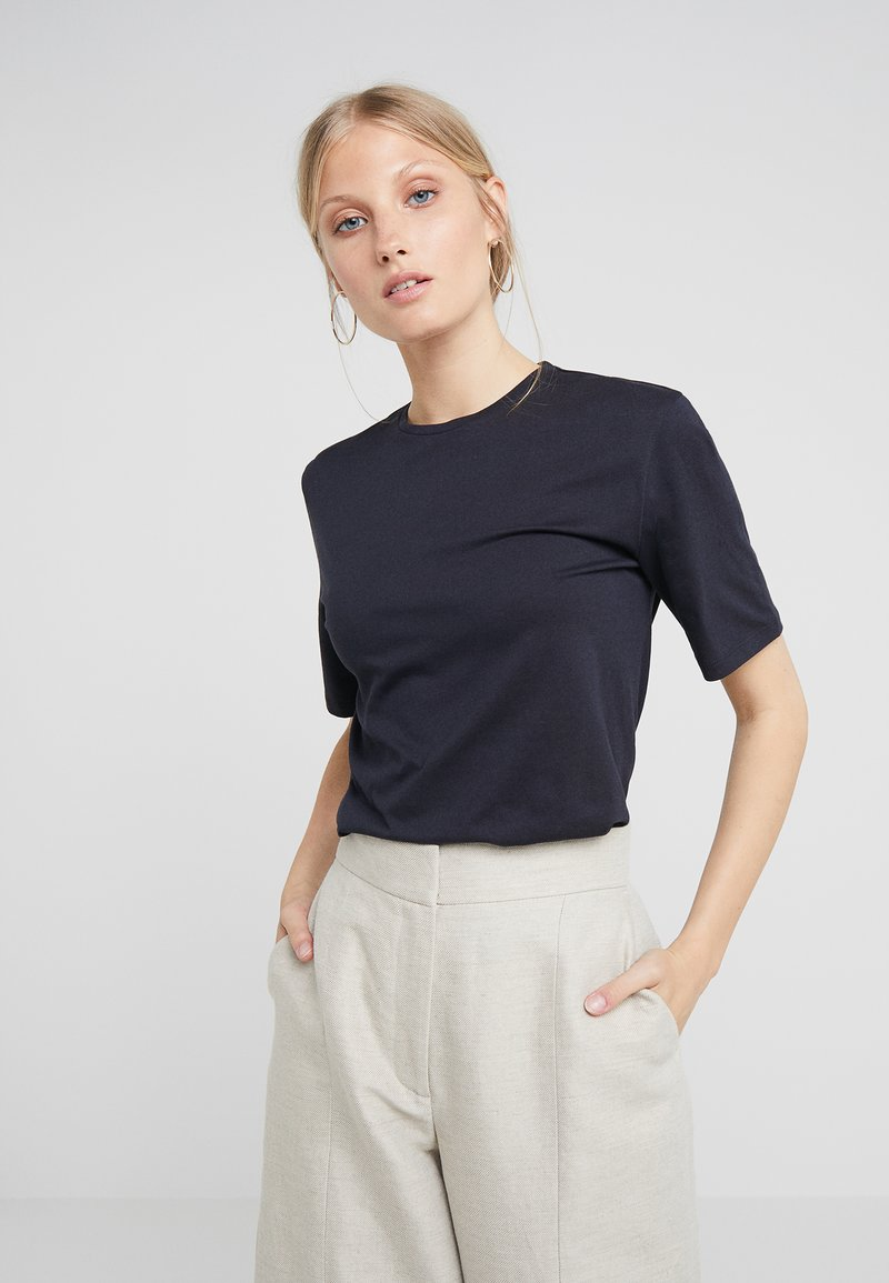 Filippa K - CREW NECK TEE - T-shirt basic - navy