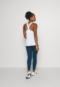 Nike Performance - ONE COLORBLOCK - Legging - valerian blue/black/cool grey