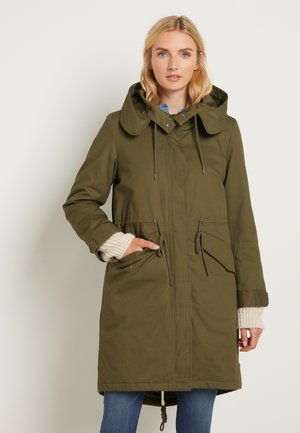 AUTHENTIC WINTER - Parkaer - olive night green