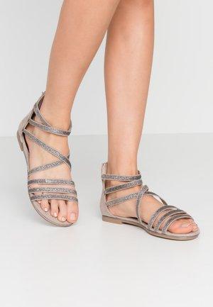 Sandály - taupe