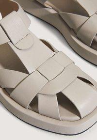 OYSHO - Sandals - beige - 6
