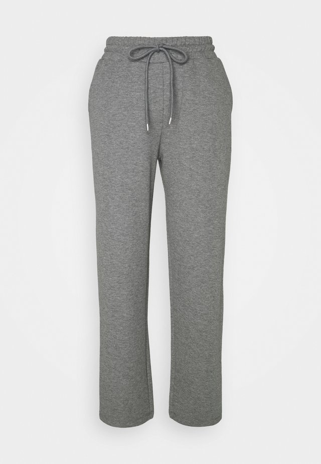 WILMA PANTS - Trainingsbroek - dark grey melange