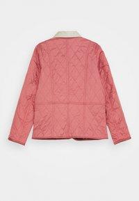 Barbour - GIRLS LIDDESDALE QUILT - Light jacket - vintage rose - 1