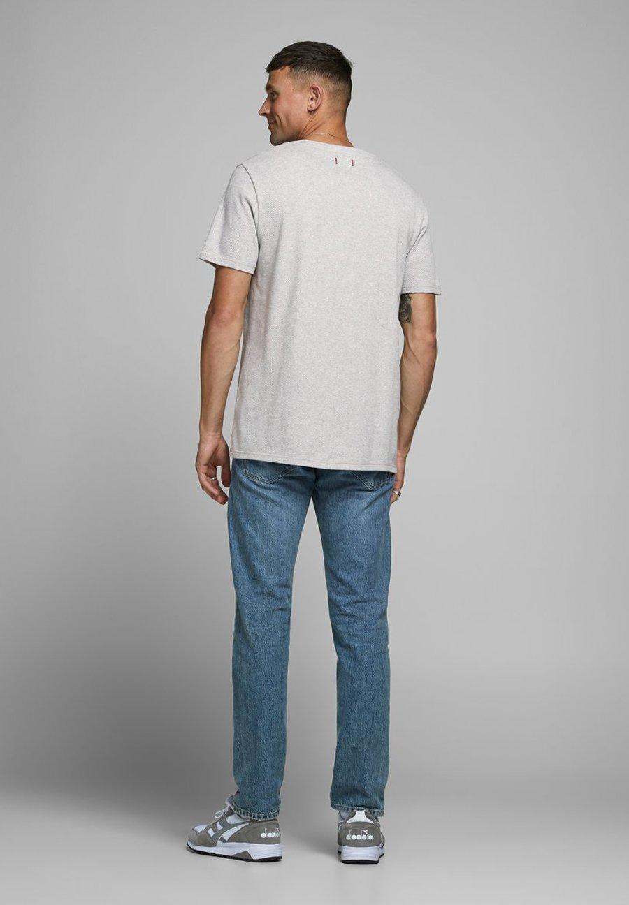 Jack & Jones PREMIUM Basic T-shirt - light grey melange iumZQ