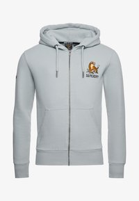 Superdry - Zip-up hoodie - grey - 3