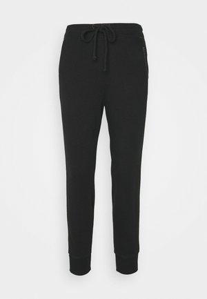 EMBROIDERED LOGO - Pantalon de survêtement - black