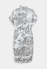 Monki - Shirt dress - white light - 6