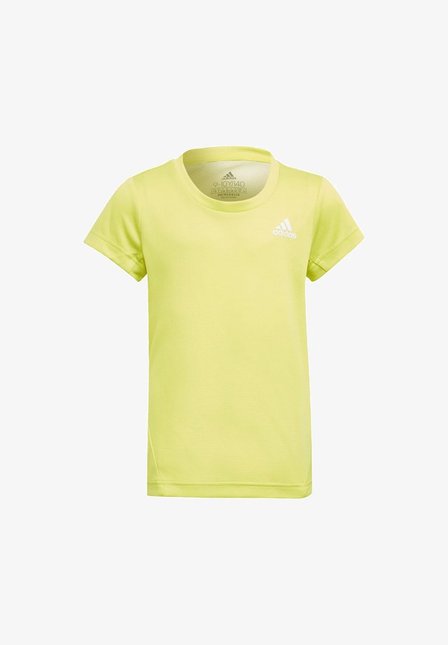 AEROREADY 3-STREIFEN T-SHIRT - T-shirt basic - yellow