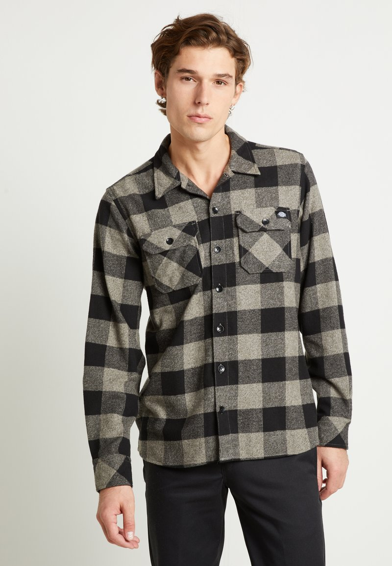 Dickies - SACRAMENTO - Shirt - grey melange
