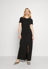 Vero Moda Tall - VMAVA LULU ANCLE DRESS TALL - Maxi dress - black - 1