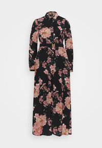 VMSUNILLA BELT ANCLE DRESS - Maxi dress - black